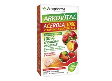 acerola 1000  ACEROLA 1000 VIT C NATURAL 30 TABLETS Arkopharma sale in our bio ...