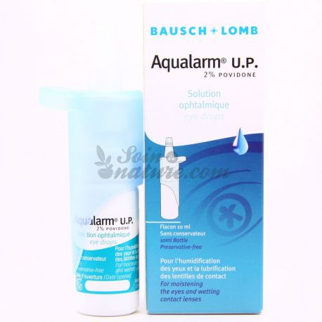 BAUSCH & LOMB AQUALARM UP SOLUTION OPHTALMIQUE 10ML