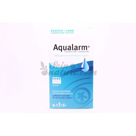 BAUSCH & LOMB - Aqualarm solution lubrifiante oculaire - 20 unidoses