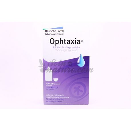 BAUSCH & LOMB OPHTAXIA Lavage Oculaire Flacon 120 ml