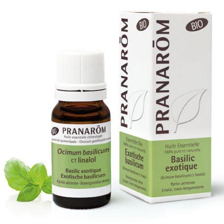 Huile essentielle BIO Basilic exotique PRANAROM 10ml