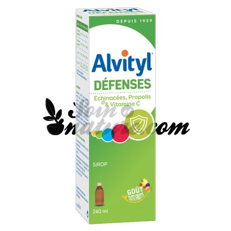 ALVITYL DEFENSES SIROP ADULTE ENFANT 240ML