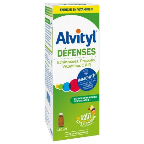ALVITYL DEFENSES SIROP ADULTE ENFANT 240ML