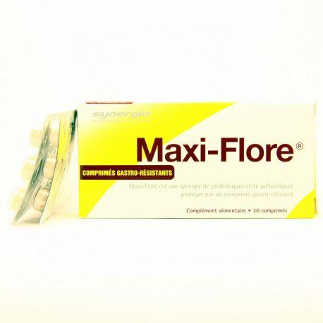 SYNERGIA MAXI-FLORE PREBIOTIQUES PROBIOTIQUES 30 CPS