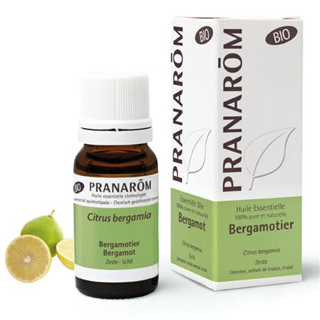 Huile essentielle BIO Bergamotier (Bergamotte) Citrus bergamia PRANAROM 10ml