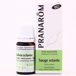 Huile essentielle BIO Sauge sclarée Salvia sclarea PRANAROM 5ml