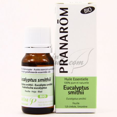 Huile essentielle BIO Eucalyptus smithii PRANAROM 10ml
