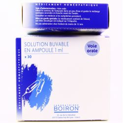 BARYTINE 8DH AMPOULES BUVABLES HOMEOPATHIE BOIRON