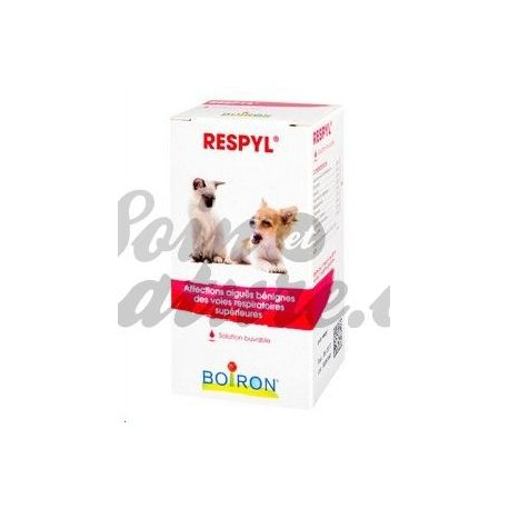 RESPYL VETERINARY HOMEOPATHY Boiron GTT BUV FL30ML