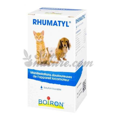 RHUMATYL Veterinair Homeopathie Boiron DROP bidon 30ML