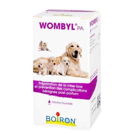 WOMBYL PA VETERINAIRE HOMEOPATHIE BOIRON GOUTTES BUVABLES FLACON 30ML