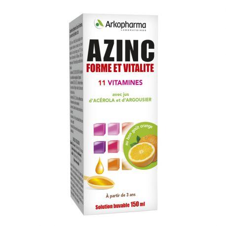 AZINC OPTIMAL SIROP FAMILLE ADULTES ET ENFANTS FL 150ML