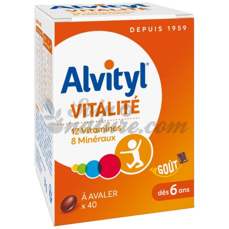 Alvityl PLUS 40 COMPRESSE