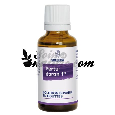 PERTUDORON SOLUTION BUVABLE 30ML WELEDA
