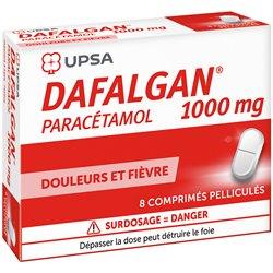 DAFALGAN 1G COMPRIMES 8