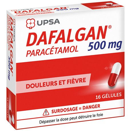 DAFALGAN 500MG GELULE 16