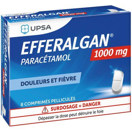 EFFERALGANTAB 1G CCOMPRIMES PELLICULES