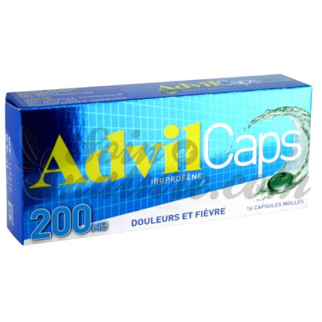 ADVILCAPS 200MG CAPSULES 16