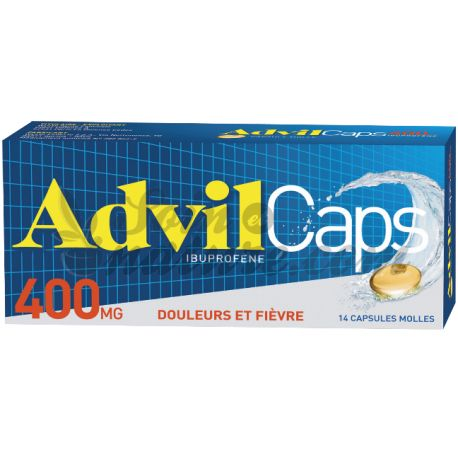 ADVILCAPS 400MG CAPSULES 14