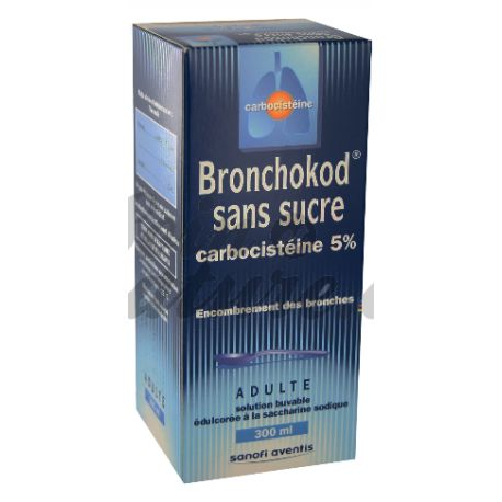 BRONCHOKOD GE 5% SOLUTION BUVABLE S/S 250 ML