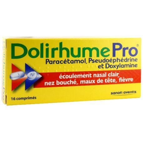 DOLIRHUMEPRO CCOMPRIMES 16