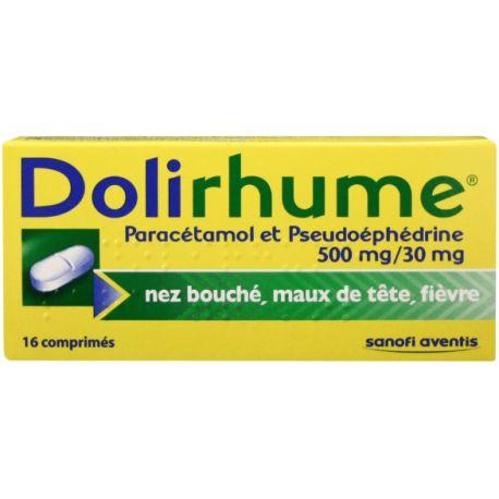 DOLIRHUME COMPRIMES 16