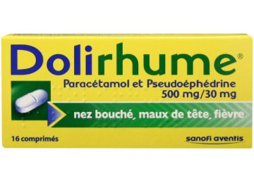 DOLIRHUME Cold rhinitis 16 tablets