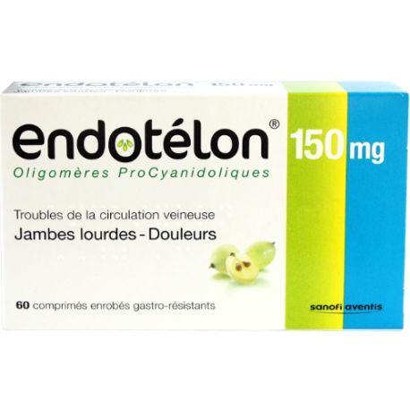 ENDOTELON 150MG COMPRIMES 60