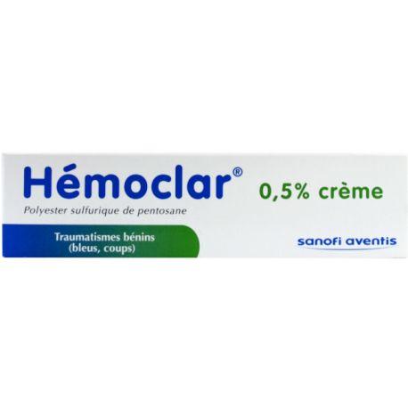 HEMOCLAR 0,5% CR TUBE 30G