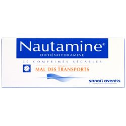 NAUTAMINE COMPRIMES SECABLE 20