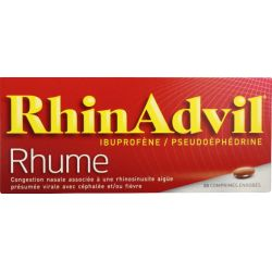 RHINADVIL COMPRIMES 20