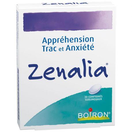Boiron homeopática ZENALIA de pánico escénico y la ansiedad