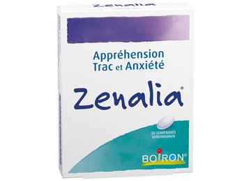 Boiron Homeopathic ZENALIA for stage fright and anxiety