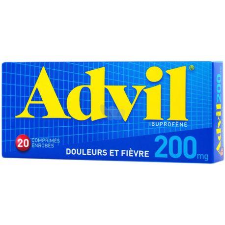 ADVIL 200MG COMPRIMES 20