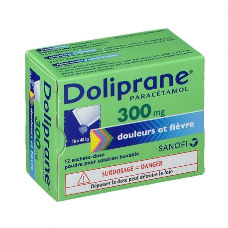 DOLIPRANE 300MG SACHETS 12