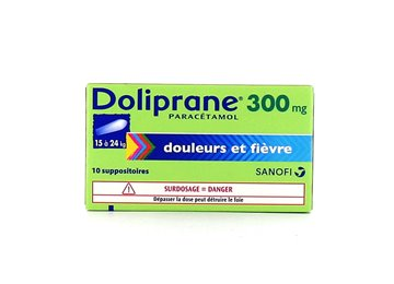 DOLIPRANE Child 300MG 10 Suppositories