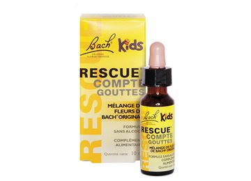 Flores De Bach Rescue Kids Botella 10 Ml 5 Flores De Bach Para Ninos