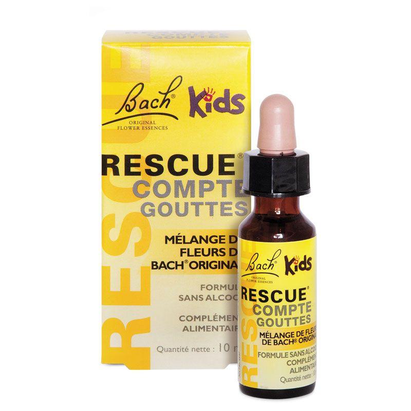 rescue kids flacon 10 ml fleurs de bach original