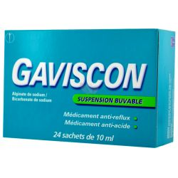 GAVISCON SUSPENSION BUVABLE SACHETS 10ML