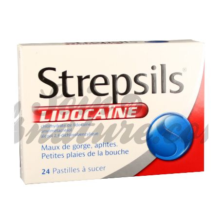 STREPSILS LIDOCAINE PAST 24