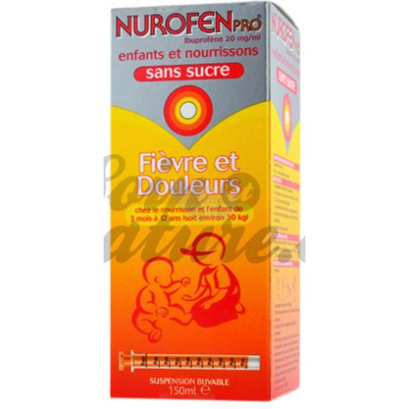 NUROFENPRO 20MG/ML SUSPENSION SANS SUCRE
