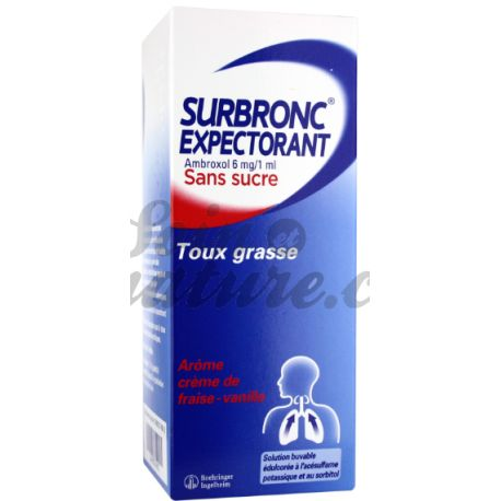 SURBRONC EXPECT SOLUTION BUVABLE SANS SUCRE