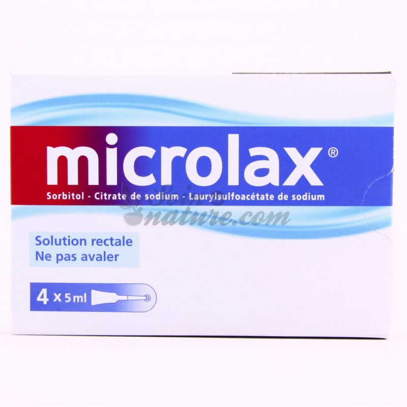 Microlax Rectal Solution Unidoses 4