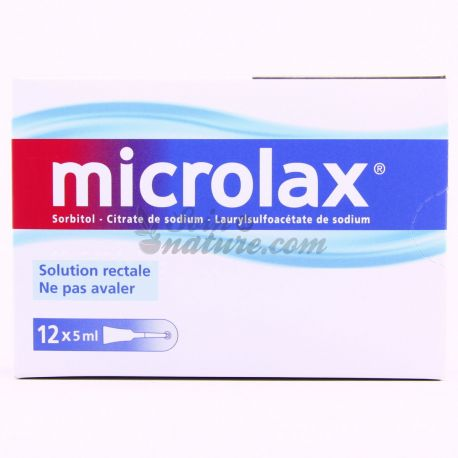 MICROLAX SOLUTION RECTALE UNIDOSE 12