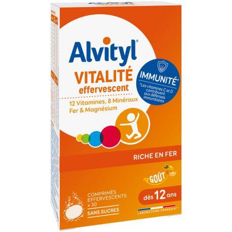 ALVITYL EFFERVESCENT COMPRIMES 30