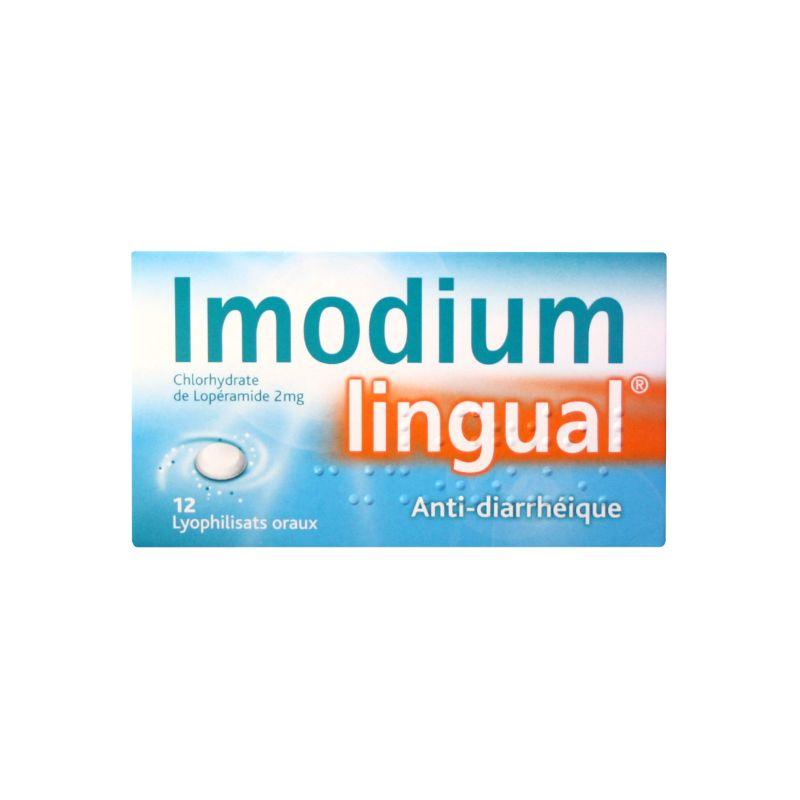 IMODIUM LINGUAL 2MG LYOC 12