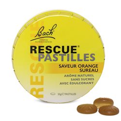 RESCUE Pastilles Gout Orange Fleurs de Bach ORIGINAL