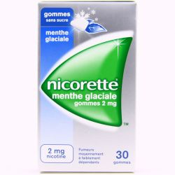 NICORETTE 2MG GOMMES MENTHE GLACIALE SANS SUCRE 30