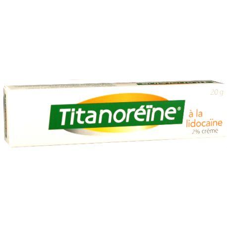 TITANOREINE LIDOCAINE 2% CREME TUBE