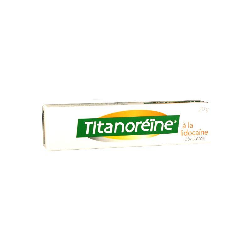 TITANOREINE LIDOCAIN 2% Hämorrhoiden-Creme 20g Tube